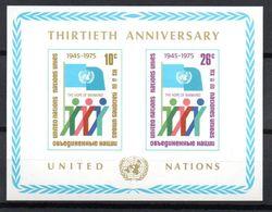G39-13 Nations Unies Bloc N° 6 ** - Blocks & Kleinbögen