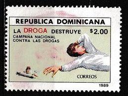 República Dominicana 1989 - Anti-drugs Campaign - Dominican Republic