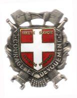 Insigne Des Sapeurs Pompiers De Haute Savoie - Pompiers