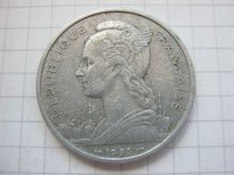 Madagascar , 5 Francs 1953 - Madagaskar