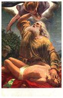 Lapina 139 - G R Reyter, Abraham Offre Isaac En Sacrifice (3 Lignes) Brun - Pittura & Quadri