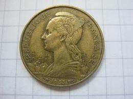 Madagascar , 20 Francs 1953 - Madagaskar