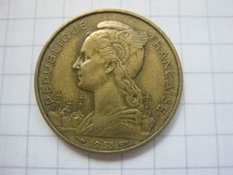 Madagascar , 20 Francs 1953 - Madagascar