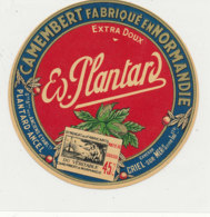 Y 481  /   - ETIQUETTE DE FROMAGE-  CAMEMBERT   PLANTARD   ANCEL    CANEHAN  CRIEL SUR MER (SEINE  MARITIME) - Cheese