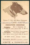 Cartolina Pubblicitaria Da Re Medico Veterinario Padova E Venezia FP P477 - Padova (Padua)