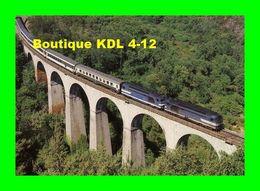 RU 0037 - Train Le Cévenol - Loco BB 67000 Sur Le Viaduc De La Malautière - Gard Et Lozère - SNCF - Languedoc-Roussillon