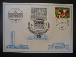 Vereinte Nationen Wien- WIPA81 Weisse Karte - Cartas