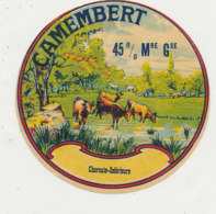 Y 507 /   ETIQUETTE DE FROMAGE- CAMEMBERT    ( CHARENTE -INFERIEURE  ) - Formaggio
