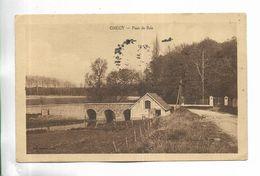 77 - GREGY - Pont De Brie - Francia