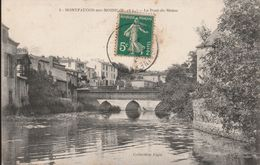 MONTFAUCON SUR MOINE Le Pont De Moine Circulée Timbrée 1906 - Montfaucon
