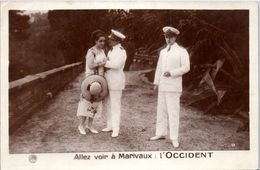 83 TOULON - Les Fiancailles D'Hassina - C. Victrix - J. CATELAIN  Et Lucien D'Alsace -Allez Voir à Marivaux : L'OCCIDENT - Toulon