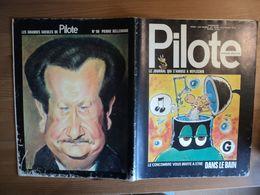 PILOTE N°646 DE 1972. 1° PLAT DE MANDRYKA BRETECHER / DE BEKETCH / MARTIAL / GOTLIB / PELAPRAT / SOLE / BILLON / JIJE / - Pilote