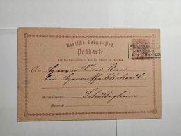 Deutsches Reich  Postkarte - Germania