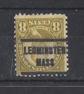 "U.S.A....."" 1922..""....LEONMINSTER MASS......PRE- CANCEL...... - United States"