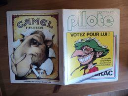 PILOTE MENSUEL N°34 DE 1977. 1° PLAT DE TABARY JACQUES CHIRAC / IZNOGOUD / RENE GOSCINNY / DOMINIQUE JAMET / LAUZIER / - Pilote