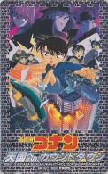 TC JAPON / 110-016 - MANGA - DETECTIVE CONAN Skate - JAPAN Movie BD COMICS Phonecard -  Holmes MOVIC 12041 - BD