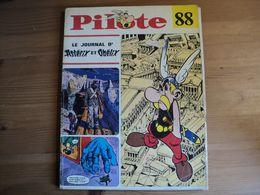 RELIURE EDITEUR BROCHEE PILOTE N°88 DE 1971 CABU / DUVIC / AUCLAIR / DIONNET / GOT / LECONTE / DE BEKETCH / LORO / GIBO - Pilote