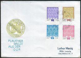 10500) DDR - Mi 1963 / 1966 - Brief - Plauener Spitze II - [6] Democratic Republic