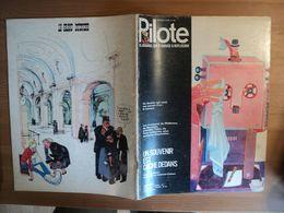 PILOTE N°622 DE 1971. 1° PLAT DE COLMAN COHEN ALBERT UDERZO / VIDAL / ALEXIS / GOTLIB / GIRAUD / SOLE / REISER / BRETEC - Pilote