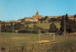 CPSM Grand Format - 31 - Saint Félix De Lauragais - Vue Générale - Le Terrain De Football - Autres Communes