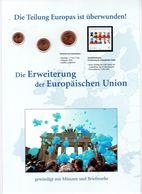 Numisblatt-Jahresgabe 2004: Die Erweiterung Der EU  Con 1-2-5 Cent Di Euro Germania - Germany