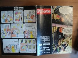 PILOTE N°545 DE 1970. 1° PLAT DE WILLIAM VANCE DROPY / CHAKIR / DE BEKETCH / LORO / GEBE / GLAY / NADAUD / POPPE / GOTL - Pilote