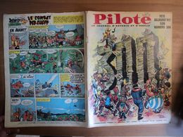 PILOTE N°300 DE 1965. 1° PLAT D EDDY PAAPE GOTLIB / RENE GOSCINNY / BARBE ROUGE / JEAN MICHEL CHARLIER / VICTOR HUBINON - Pilote