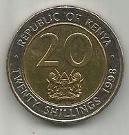 Kenya 20 Shillings 1998. High Grade - Kenya