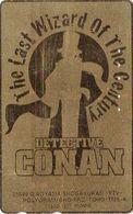 Télécarte DOREE JAPON / 110-016 - MANGA - DETECTIVE CONAN - ANIME JAPAN Movie GOLD Phonecard - Holmes 12043 - Cómics