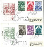 1960 ANNO MONDIALE DEL RIFUGIATO VATICANO 2 FDC CAPITOLIUM RACC - FDC