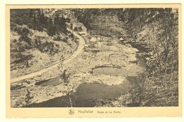 A1547[Postkaart] Houffalize / Route De La Roche / 1944-1945 / Offensive Des Ardennes / - Houffalize