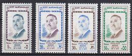 EG267 – EGYPTE – EGYPT – 1971 – PRESIDENT NASSER – SG 1112/15 MNH - Ongebruikt