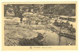 A1550[Postkaart] Houffalize / Avenue De La Gare / 1944-1945 / Offensive Des Ardennes - Houffalize