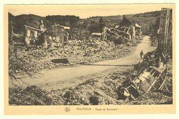 A1553[Postkaart] Houffalize / Route De Bastogne / 1944-1945 / Offensive Des Ardennes / Nels, Louis Dubé - Houffalize