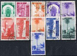 Sellos Varios MARRUECOS Español 1935. Vistas Y Paisajes, Num 148-158 */º - Spanish Morocco
