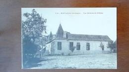 CARTE POSTALE ANCIENNE - DORDOGNE 24 - MONTAZEAU - VUE GENERALE DU CHATEAU - Francia