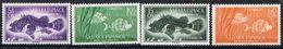 Serie Completa SAHARA Español 1953. Dia Del Sello. Peces, Fish, Num 108-111 * - Sahara Spagnolo