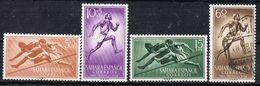 Serie Completa SAHARA Español 1954. Pro Infancia, Deporte, Num 112-115 */º - Sahara Spagnolo