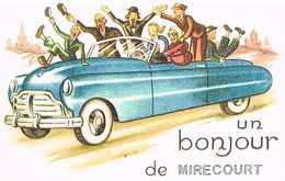 88   UN   BONJOUR  DE MIRECOURT   CPM  TBE  88-02 - Mirecourt