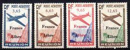 Col17  Colonie Reunion PA N° 24 à 27 Oblitéré Cote 26,00 € - Réunion (1852-1975)