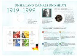 2 Marchi Su 50 Jahre Bundesrepublik Deutschland - [ 7] 1949-… : RFA - Rep. Fed. Alemana