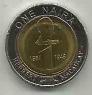 Nigeria 1 Naira 2006. High Grade - Nigeria