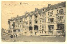 A1365[Postkaart] Nieuport / Madona, Paimpolaise, Orchidées, Alliette, Hélène, Wilhelmine, Marie José [Nieuwpoort] - Nieuwpoort