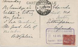 CACHETS DE PAQUEBOTS  - MESSAGERIE MARITIMES-LE THEOPHILE GAUTIER; - Postmark Collection (Covers)