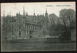 Humbeek - Kasteel Van Humbeek - Circulée - Uitg. J. Van Hemelrijck, Statie - 2 Scans - Grimbergen