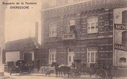Overijse   Overyssche    Brasserie De La  Fonataine -  ZELDZAAM-  Verzonden 28.06.1927 - Overijse