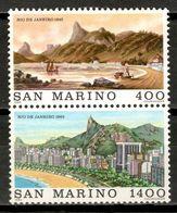 San Marino 1983 / Cities Of The World Rio De Janeiro MNH Ciudades Del Mundo / Kt23  C5-14 - Saint-Marin