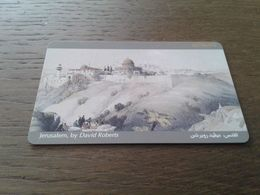 Jordan - Nice Chipphonecard (chip On Back) - Jordania