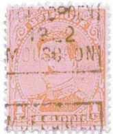 OCVB  N° 2787-II  C  MOESCROEN 1922 MOUSCRON - Rolstempels 1920-29