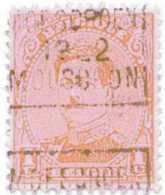 OCVB  N° 2787-II C   MOESCROEN 1922 MOUSCRON - Préoblitérés